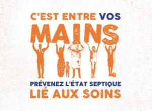 affiche campagne hygiène des mains OMS